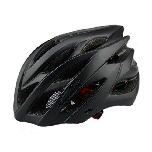 6 x colores – Scott casco de ciclismo con luz de seguridad, adultos hombre y mujer. Para deporte casco de bicicleta para...