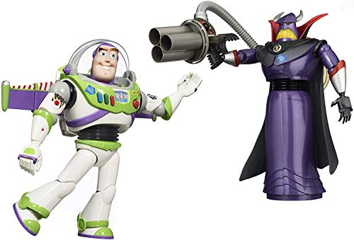 Toy Story 12.5″ Buzz Lightyear and 14″ Emperor Zurg Talking Action Figures