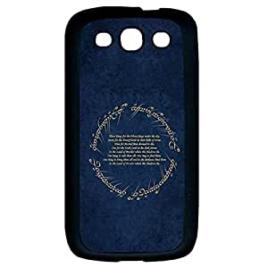 Colorful Phone Case With Lord Of The Rings Durable Samsung Galaxy S3 I9300 Case