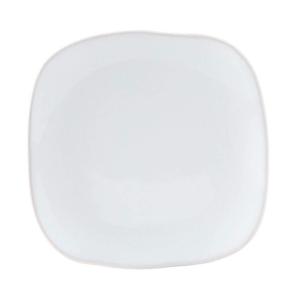 Tuxton Home THGGE501-4B Artisan Ceramic Plate 9 Geode Azure Blue