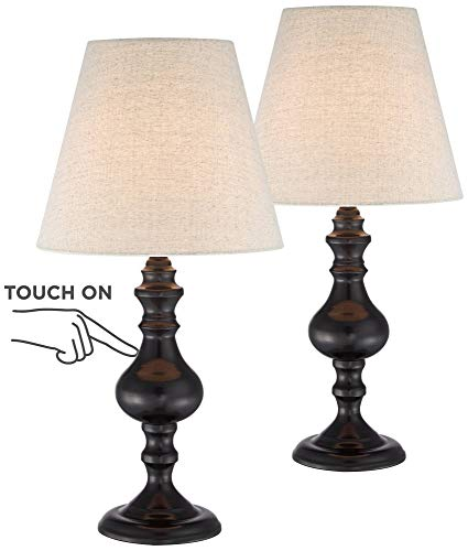(Ted Traditional Accent Table Lamps 18 1/2