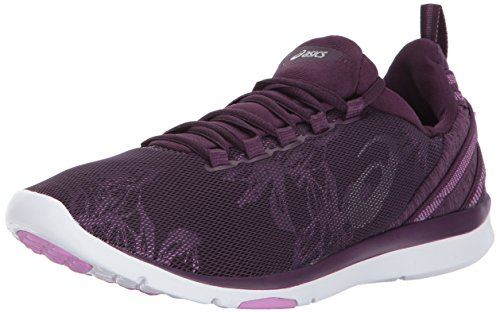 ASICS Women's Gel-Fit Sana 3 Cross-Trainer-Shoes, Winter Bloom/Silver/Violet, 7 Medium US