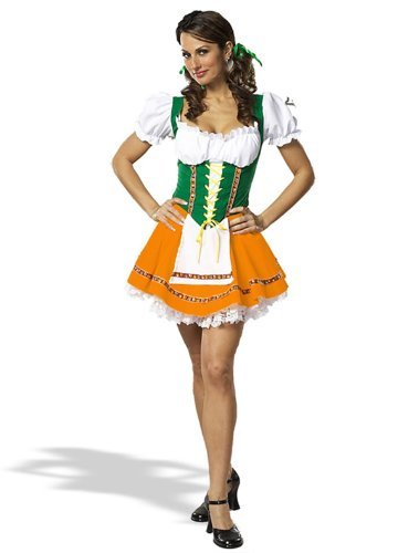 Swiss Miss Costume - X-Small - Dress Size 2-4 -