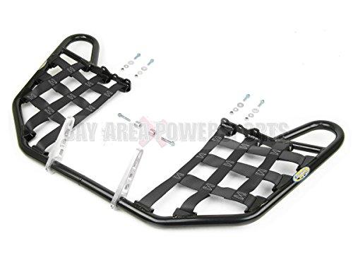 Bay Area Power Sports Yamaha Raptor 350 Yfm350 Nerfbars Atv Nerf Bars Black Bars/Black (Nerf Bars Black Nets)