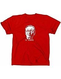 Hermann Hesse T-Shirt, Siddharta, unterm rad, steppenwolf, demian, XL, rot