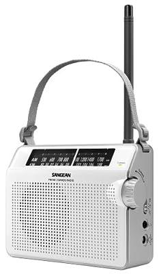 Sangean America PR-D6 Compact Analog Portable Radio by Sangean