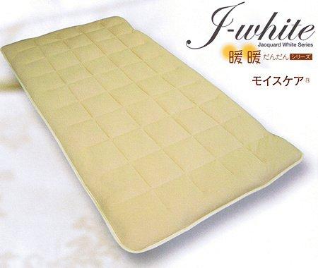 J-white 発熱敷きパッド /セミシングル B00MRWWKIE