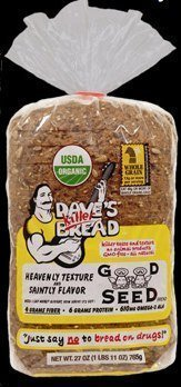 (Dave's Killer Bread - Good Seed - 3 Loaves - Certified Organic )