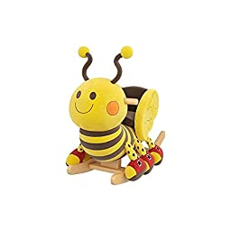 Gibson Living Thomas the Bee Kids\' Rocker with Music
