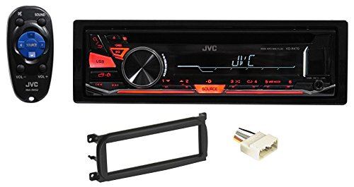 Installation Built In Trim (JEEP WRANGLER 2003-2006 JVC Stereo/Receiver/Radio/CD Player Factory Replacement)