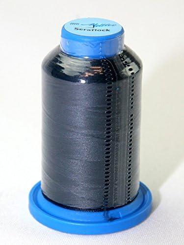 Metler Seraflock - Hilo elástico para coser, 1000 m, color azul ...