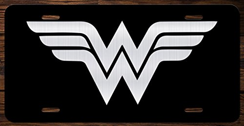 Wonder Woman Vanity Front License Plate Tag KCE037
