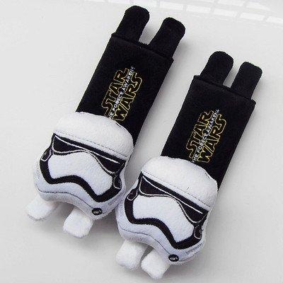 CJB Star Wars Storm Trooper Plush Seat Belt Cover Shoulder Pad Cushion (US Seller) -