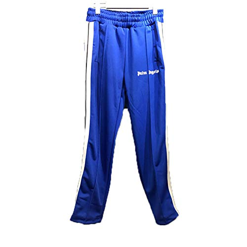 Latest Model Palm Angels Sweatpants 1:1 Plaid Stripe Zipper Palm Angels Pants 10 ()