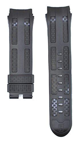 tch Strap For Chrono Bike F16382-5 Watches FES100 (Black Chrono Strap)