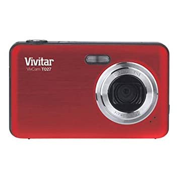 vivitar vivicam t027 12mp digital camera red amazon co uk camera rh amazon co uk
