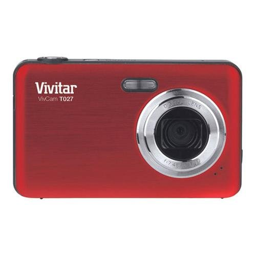 Vivitar 12. 1MP Digital Camera with 2. 7-Inch Screen (T027), Colors may vary at amazon