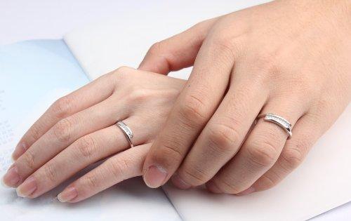 Infinite U Pluie de Météorites Zircone Cubique Argent 925 Couples Réglable Taille de Bague 49 à 64