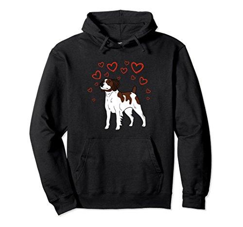 Unisex Brittany is my Valentine Hoodie 2XL Black (Sweatshirt Name Valentine)