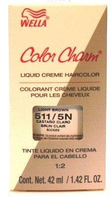 (Wella Color Charm Liquid #0511 Light Brown Haircolor (Case of 6))