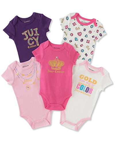 Juicy Couture Baby Girls Bodysuits