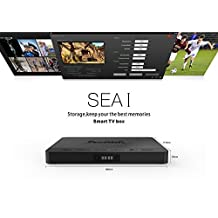 Beelink SEA I Smart TV Box with Android 6.0 Realtek 1295 DD Quad-Core ARM Cortex-A53 / ARM Mali-T820MP3 GPU DDR4 2GB Onboard eMMC Flash 32GB Real-time Video Record 1000Mbps LAN 2.4G+5.8G WiFi (Supports SATA3.0 Hard Disk)