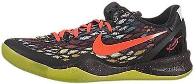 punto estrategia Opcional  Amazon.com: Nike Kobe 8 System (Christmas) - Black / Bright  Crimson-Fiberglass-Vivid Sail, 9 D US: Shoes