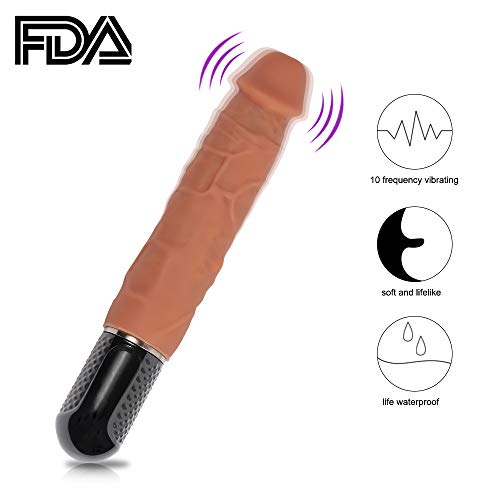 Ultra Soft Medical Grade Si-licone Rod for Women Men Couples