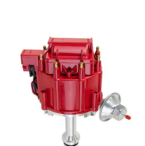 A-Team Performance Small Block/Big Block 65K COIL HEI Complete Distributor Compatible With Oldsmobile 260 307 330 350 400 403 425 455 1-Wire Instillation