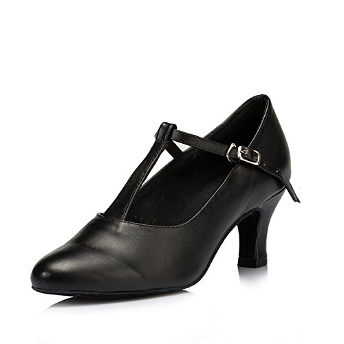 Donna 6cm Heel Miyoopark Ballroom Black 5qtxwxngHX