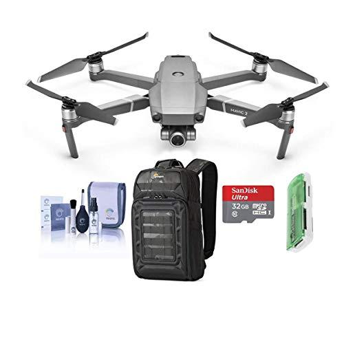 DJI Mavic 2 Zoom Drone Quadcopter with 24-48mm Optical Zoom Camera Video UAV 12MP 1/2.3-inch CMOS Sensor Bundle with…