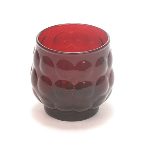 Anchor Hocking Ruby Glass - 8