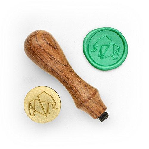 DesignOD Wax Seal Stamp - Origami Elephant