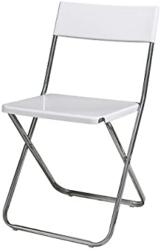 Ikea Jeff Chaise Pliante Blanc Amazon Fr Cuisine Maison