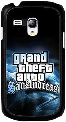 Funda Protectora antirrayaduras para Samsung Galaxy S3 Mini, diseño de Grand Theft Auto V (GTA 5), Compatible con Samsung Galaxy S3/Samsung Galaxy S3 Mini i8190, Color: Amazon.es: Electrónica