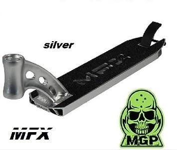 MGP Madd Gear MFX 2016 Deck/pour trottinette Integrated Argent/é