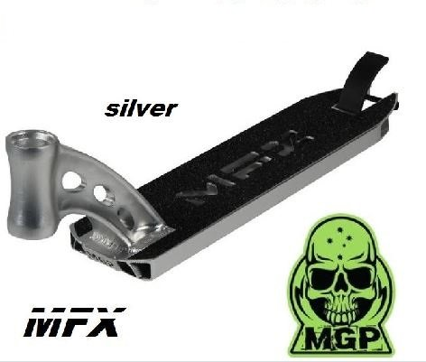MGP Madd Gear MFX Deck 2016 Stunt-Scooter integrated Silber