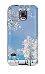 Best 2979222K10980735 Awesome Case Cover Compatible With Galaxy S5 - Winter Earth Nature Winter