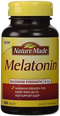 Nature Made® Melatonin 5 Mg, 250 Tablets