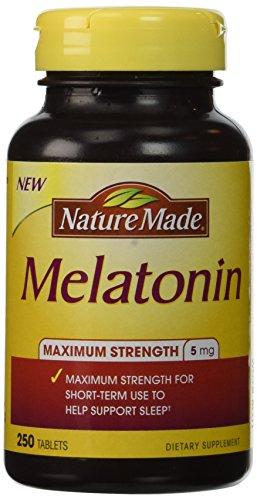 Nature Made® Melatonin 5 Mg., 250 Tablets