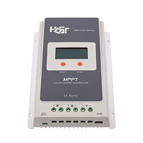 HQST 30A MPPT Solar Charge Controller by HQST