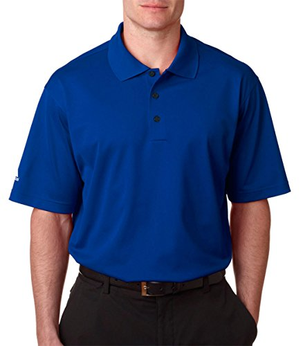 Adidas Climalite Polo Shirt (Adidas Golf Men's Climalite Basic Performance Polo Shirt, Collegiate Royal, 3XL)