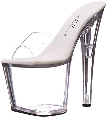 Ellie Shoes Womens 821 Sandalo Della Piattaforma Di Vanità Chiaro
