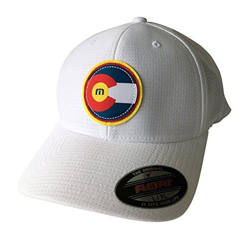 2a530592c43 Travis Mathew Colorado Flag Hat The Jo (Black) Large X-Large at Amazon  Men s Clothing store