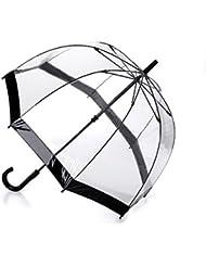 Unisex Adult Her Majestys Transparent Vinyl Dome Umbrella