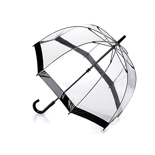 Unisex Adult Her Majesty's Transparent Vinyl Dome Umbrella
