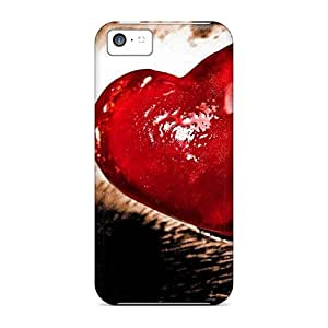 NikRun Snap On Hard Case Cover Love Red Heart Protector For Iphone 5c