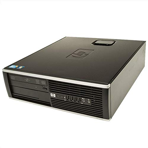 HP - D2PC Fisso Desktop HP 6000 PRO SFF Intel CPU INTEL QUADCORE Q8400 - RAM 8 GB - HD 320 GB - SK VIDEO INTEL HD - WIN 7 PRO 64 BIT - Windows 7 Professional (Ricondizionato Certificato)