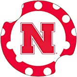 Thirstystone University of Nebraska Dots Car Cup Holder Coaster, 2-Pack