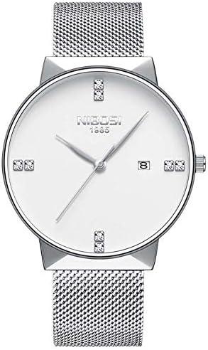 腕時計女性高級男性腕時計ユニセックススタイル防水クリスタルシンクォーツ時計